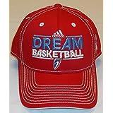 fan products of WNBA Atlanta Dream Adjustable Velcro Adidas Hat - Osfa - ND97Z