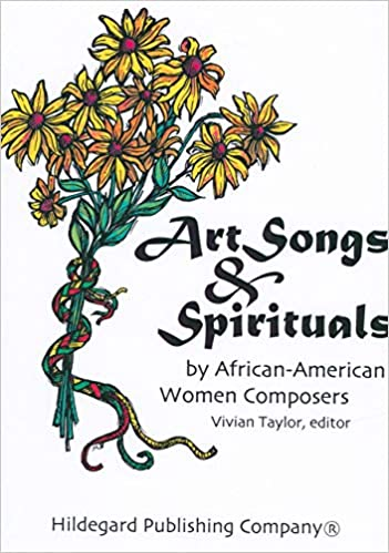 Art Songs and Spirituals by African-American Women composers Cover Art