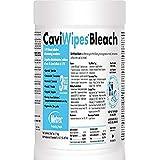 "Metrex 13-9100 CaviWipes Bleach Wipes, 6"" x 10.5"" (Pack of 90)"