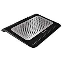 "Thermaltake Massive A22 Aluminum Panel Dual 120mm Fan Portable 10""-17"" Laptop Notebook Cooling Pad CL-N012-PL12BL-A"