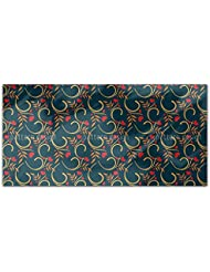 Love For Nature Rectangle Tablecloth Large Dining Room Kitchen Woven Polyester Custom Print