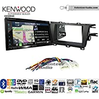 Volunteer Audio Kenwood Excelon DNX694S Double Din Radio Install Kit with GPS Navigation System Android Auto Apple CarPlay Fits 2010-2015 Non Amplified Toyota Prius