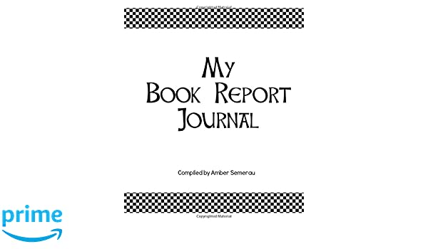 book journal example