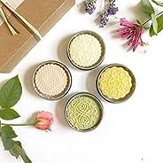 Kaya - Gift Set of 4 Solid Lotion Bars - Natural & Organic