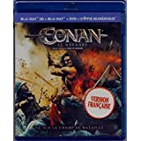 Conan le Barbare (English/French) 2011 (Widescreen) Cover Bilingue [Blu-ray 3D + Blu-ray + DVD] Doublé au Québec