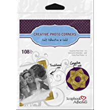 Scrapbook Adhesives by 3L Corporation Paper Corners-Gold-3 Sheets (108pcs)