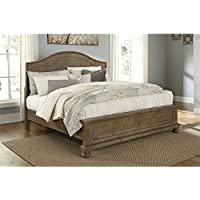 Ashley Trishley Queen Panel Bed in Light Brown