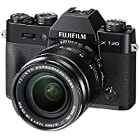 Fujifilm X-T20 Mirrorless Digital Camera w/XF18-55mmF2.8-4.0 R LM OIS Lens - Black (International Model No Warranty)