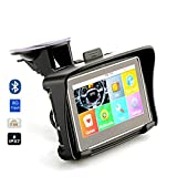 Becoler 4.3 Inch Touch Screen Motorcycle/Car GPS Navigator Built-in 8GB Support Multi-languages Riding with USB