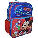 """Disney Mickey Mouse Deluxe 16"""" School Bag Backpack"""