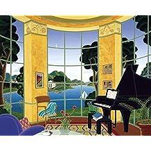 Thomas Mcknight - Yellow Music Room 37 x 30