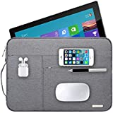 Audirex Water Drop Proof Laptop Tablet Sleeve Handbag for 12 - 13.3 Inch MacBook Air | MacBook Pro Retina 2012 - 2017 | 12.9 Inch iPad Pro | Surface Pro 3 Pro 4 | New Surface Pro