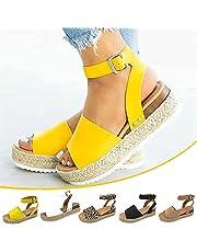 2021 Women's Sport Open Toe Casual Platform Wedge Shoes Outdoor Sandals Suitable for Women