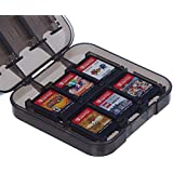 AmazonBasics Game Storage Case for 24 Nintendo Switch Games - 3.4 x 3.4 x 1 Inches, Black