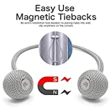 Cyrico Magnetic Curtain Tiebacks, Decorative