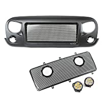 Rugged Ridge 12034.35 Spartan Grille Round LED Insert Kit