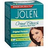 Jolen Creme Bleach Original Formula - 1.2 oz, Pack of 5