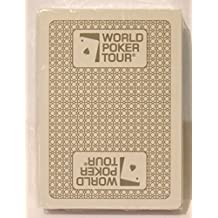 Kem World Poker Tour Silver Single Deck Standard Index WPT Playing Cards