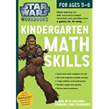 Star Wars Workbook: Kindergarten Math Skills (Star Wars Workbooks)