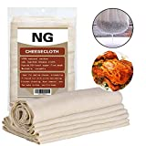 Unbleached Cheese Cloth Kitchen Rag Best for Cooking Food Cheesecloth Make Nut Milk Bags Filter Wine Making Roasting Turkey Holiday Decorating Dusting 50 Grade 37 Square Feet Can Washable Reusable