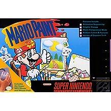 Mario Paint Super Nintendo NES SNES Game Series Box Art Yoshi Luigi Princess Print Poster - 12x18