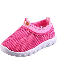 Kids Aqua Shoes Breathable Slip-on Sneakers for Running...