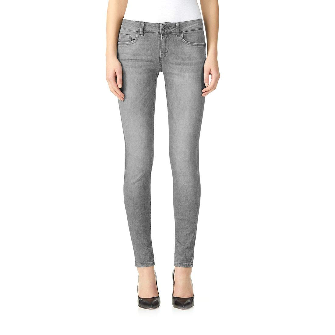 Liu Jo Women's U19055D425187199 Grey Cotton Jeans