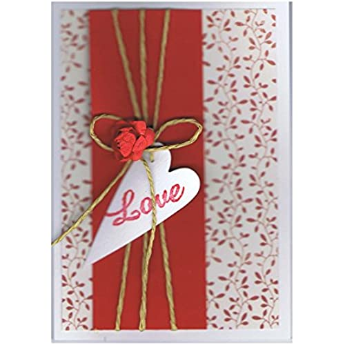 Red Vine Love Card - Fair Trade & Handmade Sales
