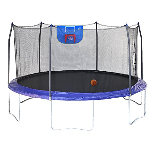 Skywalker 15 Trampoline With Safety Enclosure Reviews: Trampolines Skywalker 15 Ft Jump N Dunk Safety Enclosure