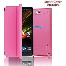 "Indigi 4.4 SMARTPHONE 3G 7"" PHABLET AT&T T-MOBILE UNLOCKED + Free Smart Cover"