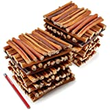 ValueBull Bully Sticks Dog Chews, 6 Inch Regular/Thin, All Natural, 200 Count