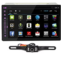 7 Inch Full-Touch No-Key Android Tablet CD WiFi 3G GPS 2Din In-Dash Car DVD Radio Stereo Player 2015 Android 4.2 HD In-Dash Car DVD Radio Stereo Player WiFi 3G GPS Tablet PC+Backup Camera