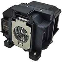 Ahlights ELPLP67 Projector Replacement Lamp with Housing for Epson
