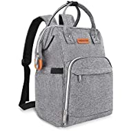 Diaper Bag Backpack - Baby Diaper Bag for Men Women Boys Girls, Large Capacity Travel Back Pack Bag with Stroller Straps, Insulated Pockets, Stylish Gift for Mom Dad