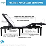 Blissful Nights Queen Adjustable Bed Frame with