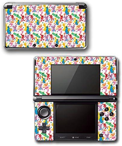Sesame Street Friends Characters Big Bird Bert Elmo Video Game Vinyl Decal Skin Sticker Cover for Original Nintendo 3DS System