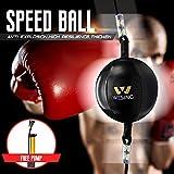 wesing Double End Striking Bag Boxing Speed Bag