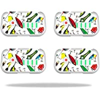 Skin For DJI Phantom 3 Drone Battery (4 pack) – Bright Lures | MightySkins Protective, Durable, and Unique Vinyl Decal wrap cover | Easy To Apply, Remove, and Change Styles | Made in the USA