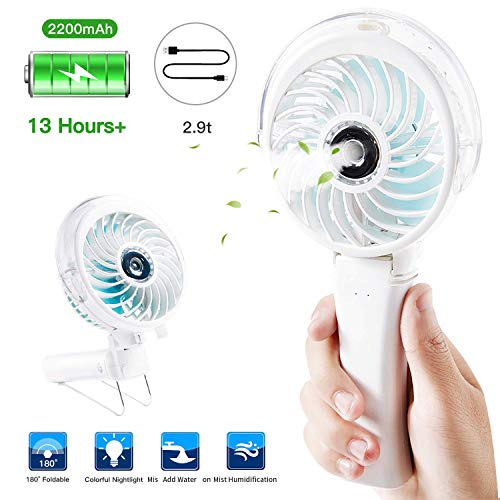 Handheld Misting Fan Portable