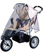 sunnybaby 10083 Universele regenhoes, regenbescherming voor joggers, sportwagens, shoppers, buggy met dak, kinderwagen, praktisch contactvenster, optimale luchtcirculatie, premium kwaliteit