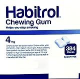 Habitrol Nicotine Gum 4mg Fruit BULK 384 pieces
