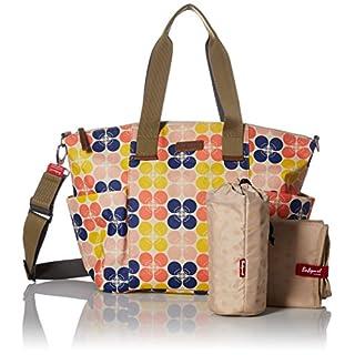 Babymel Evie Tote Diaper Bag, Fruity Floral Dot