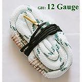New Bore Snake Cleaning 12 GA Gauge Caliber Boresnake Shotgun Barrel Cleaner Hunting Kit