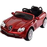 Costzon Kids Ride On Car, 12V Licensed Mercedes Benz R199, Electric Car with MP3 Remote Control (Red)
