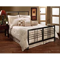 Hillsdale Furniture 1334BFR Tiburon Bed Set with Rails, Full, Magnesium Pewter