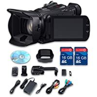 Canon XA25 HD Professional Camcorder + 2 PC 16 GB Memory Cards + All Manufacturer Accessories - International Version