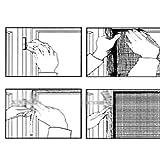 MAZIMARK--Removable Large Window Screen Mesh Net