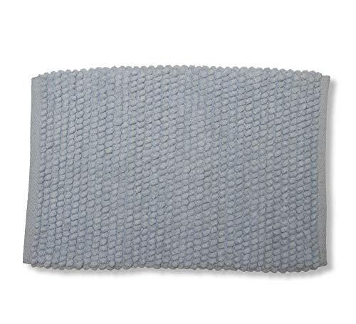 Tapete Banho Pop, Etna, 100% Algodão, Azul, 50 x 70 cm