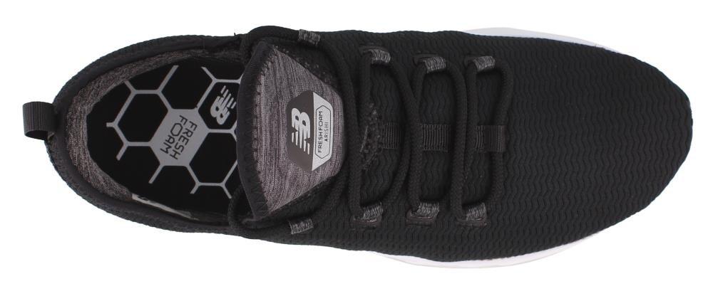 New Balance Women's Fresh Foam Arishi V1 Running Shoe B0722XG2KR 8.5 B(M) US|Black/Grey
