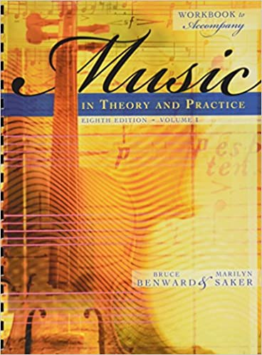Music In Theory And Practice Volume 1 Pdf